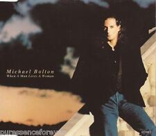 MICHAEL BOLTON - When A Man Loves A Woman (UK 3 Tk CD Single)