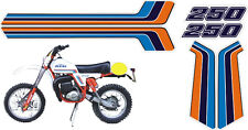 KTM GS 250 1981 cristal - adesivi/adhesives/stickers/decal
