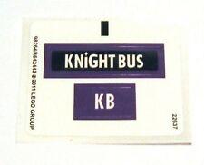 LEGO 4866 - HARRY POTTER - The Knight Bus - STICKER SHEET