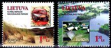 SELLOS TEMA EUROPA 1999 LITUANIA  RESERVAS NATURALES 2v.