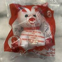 MCDONALD'S HAPPY MEAL TOY BUILD-A-BEAR 2013 Merry Mint Pup New in Pack