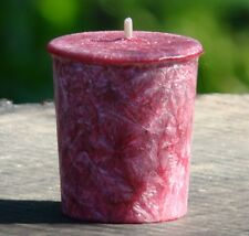 8pk BLACK CHERRY & SPICED ORANGES Triple Scented 160hr/pk VOTIVE CANDLES Refills