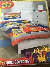 Wiggles - chugga chugga Big Red Car SINGLE  bed Quilt Doona Duvet Cover set new