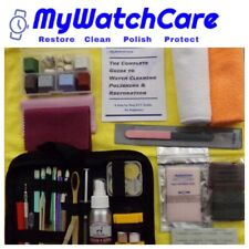 80pc Pro Luxury Watch & Crystal & Jewelry Scratch Removal-Polishing-Cleaning Kit