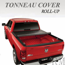 Lock Roll Up Soft Tonneau Cover Fit 2009-2018 DODGE RAM 1500 2500 3500 5.7ft Bed