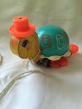 Tip Toe Turtle Fisher Price Wooden Pull Toy 1962 #773 Vintage HTF