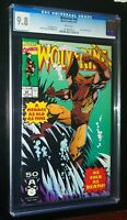 WOLVERINE #44 1991 Marvel Comics CGC 9.8 NM/MT White Pages