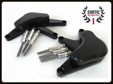 Honda CBR 1000 RR 1000RR 2008-2014 Black Engine Stator Cover Sliders Protector