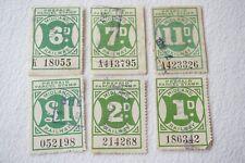 More details for midland railway newspaper parcel letter stamp x6 ref 4
