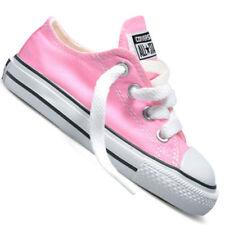 Scarpe rosa Converse in tela per bambini dai 2 ai 16 anni