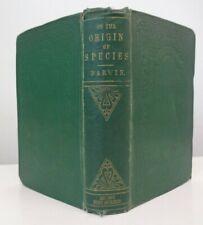 1861 Charles Darwin ON THE ORIGIN OF SPECIES Scientific Literature Evolution