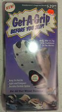 Get a Grip XL Men's size 11 and up Button Style Ice grips for Shoes and Boots