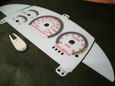 1995-1998 Chevy Cavalier Z24 RS Automatic White Face Glow Through Gauges