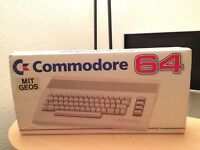 Commodore C64 + OVP + Commodore Floppy 1541 + Datasette  + OVP