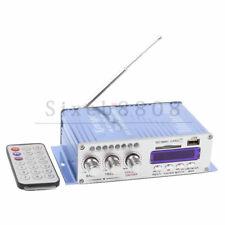 DC 12V Hi-Fi Car Stereo Power Amplifier USB MP3 DVD CD FM SD Sound Mode Digital