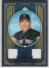 2005 DIAMOND KINGS DONRUSS KAZUO MATSUI #364 BLUE FRAME GAME USED CARD 32/100