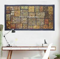 Indian Vintage Cotton Patchwork Wall Hanging Handmade Tapestry Wall Decor Throw