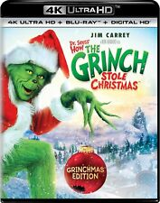 PREORDER: HOW THE GRINCH STOLE CHRISTMAS (4K ULTRA HD) - Blu Ray -  Region free