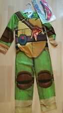 Teenage Mutant Ninja Turtles Childrens Fancy Dress Up Costume 8-9 yrs BNWT new