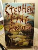 Desperation by Stephen King 1st Edition 1st Print Hardcover DJ Good Condition!!