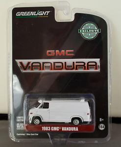 Greenlight 1:64 1983 GMC Vandura White