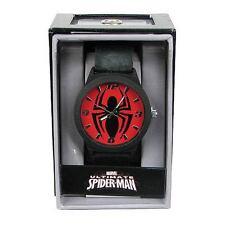 Spiderman - SPIDERMAN Emblem Strap Watch - Accutime