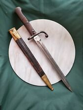 Alex Coppel Stamped Bayonet With Original Scabbard Solingen Germany