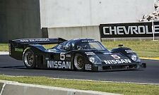 1990 Nissan GTP ZX Turbo NPTI/90 Can-Am Vintage Classic Race Car Photo CA-1097
