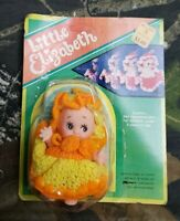 Vtg Kmart Little Elizabeth Small Baby Doll Unpunched On Card DI
