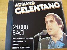 ADRIANO CELENTANO 24,000 MILA BACI CD MINT-  JOKER