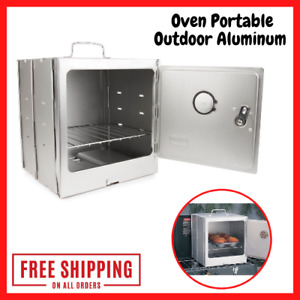 Coleman Camp Oven Portable Outdoor Aluminum Propane Gas Cookware Camping Stoves