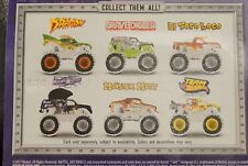 Hot Wheels Monster Jam Special Holiday Edition set of 6 Trucks Die-cast New