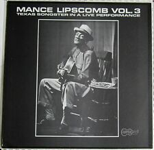 Blues-MANCE LIPSCOMB: Vol. 3 LP US 1966 Arhoolie F-1026 M-