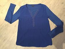 Grain de malice GDM - Haut t-shirt bleu roi manches longues - Taille 38
