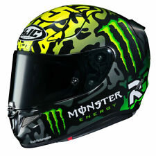 HJC RPHA11 CRUTCHLOW MONSTER ENERGY MOTO GP REPLICA MOTORBIKE MOTORCYCLE HELMET