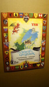 WORLD OF GREYHAWK *NEW NM/MT 9.8 MINT* DUNGEONS DRAGONS SUPPLEMENT