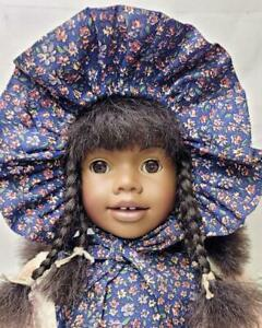 """HEIDI OTT DOLL 18"""" Faithful Friends African American with Tag Clothes Shoes"""