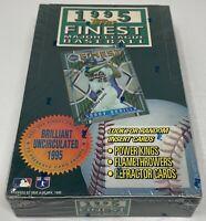 1995 TOPPS FINEST MLB Baseball BOX Factory SEALED Refractors? 24 Packs Unopened