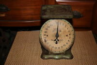 Antique American Family Scale 25LBS By Ounces-Country Farm Decor Aged Patina