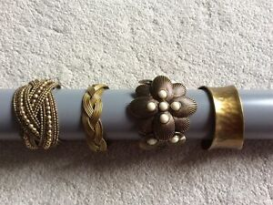 Collection Of Four Cuff Bracelets