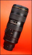 Nikon AF-S 70-200mm F2.8 G MK II VR N Zoom Pro Lens +Rear Lens Cap & Hoya Filter