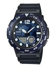 CASIO AEQ-100W-2A BLACK / BLUE WATCH FOR MEN - COD + FREE SHIPPING