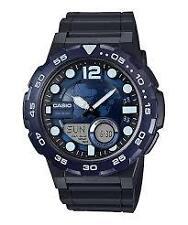 CASIO AEQ-100W-2A BLACK / BLUE WATCH FOR MEN - COD + FREE SHIPPING