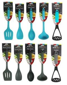 ALL YOUR KITCHEN UTENSILS SET OR INDIVIDUALLY SPOON MASHER LADLE IN 2 COLOURS