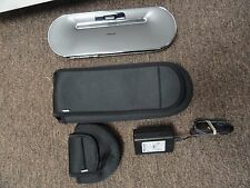 Philips iPhone iPod Portable Docking Speaker and Charger w/ Carry Case DS7550/17