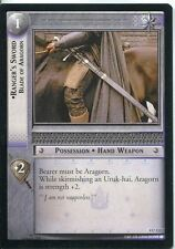 Lord Of The Rings CCG Card TTT 4.U132 Ranger's Sword, Blade Of Aragorn