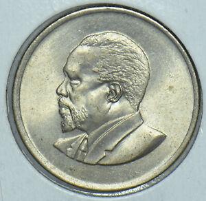 Kenya 1967 Mzeejomo Kenyatta 50 Cents Lions animal First President Of Kenya 1915