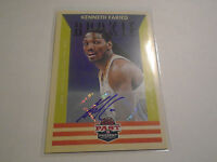 2012-13 Panini Past & Present Signatures #184 Kenneth Faried RC Nuggets Auto
