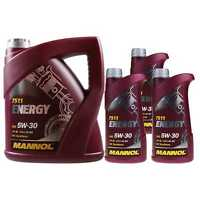 7 Liter Original MANNOL Motoröl Energy 5W-30 API SL Engine Oil Öl