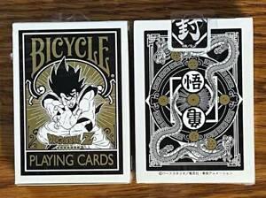 1 DECK Bicycle Dragon Ball Z Japan anime playing cards USA SELLER!